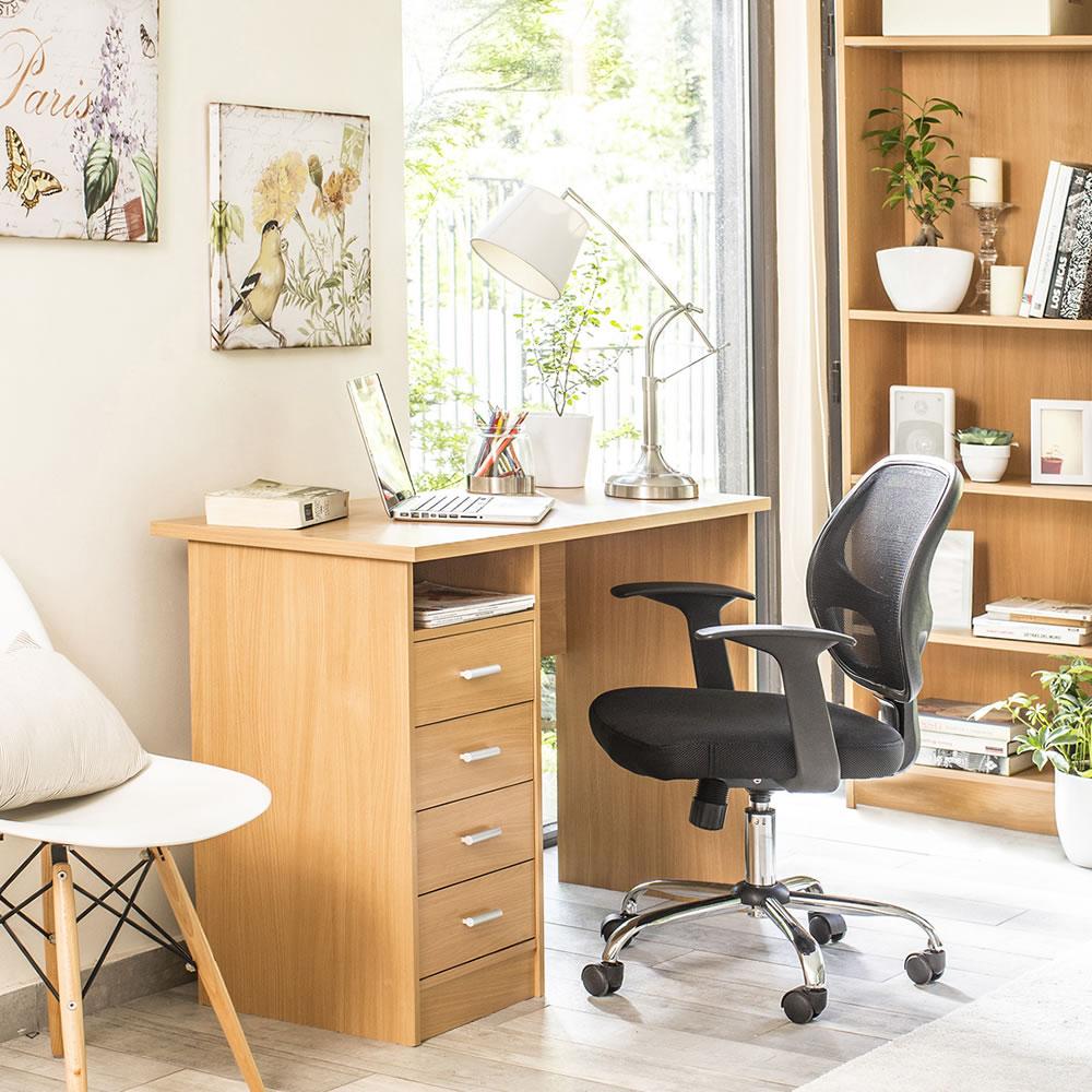 Cadeira Executiva Verona Preto 98x55cm Giratória Asenti